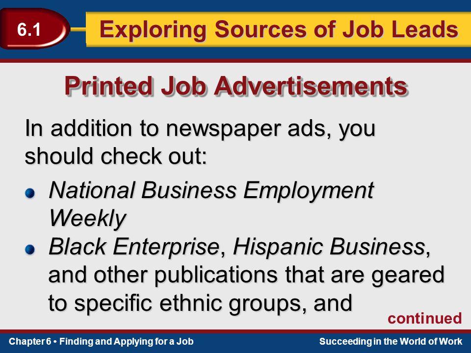 job lead sources