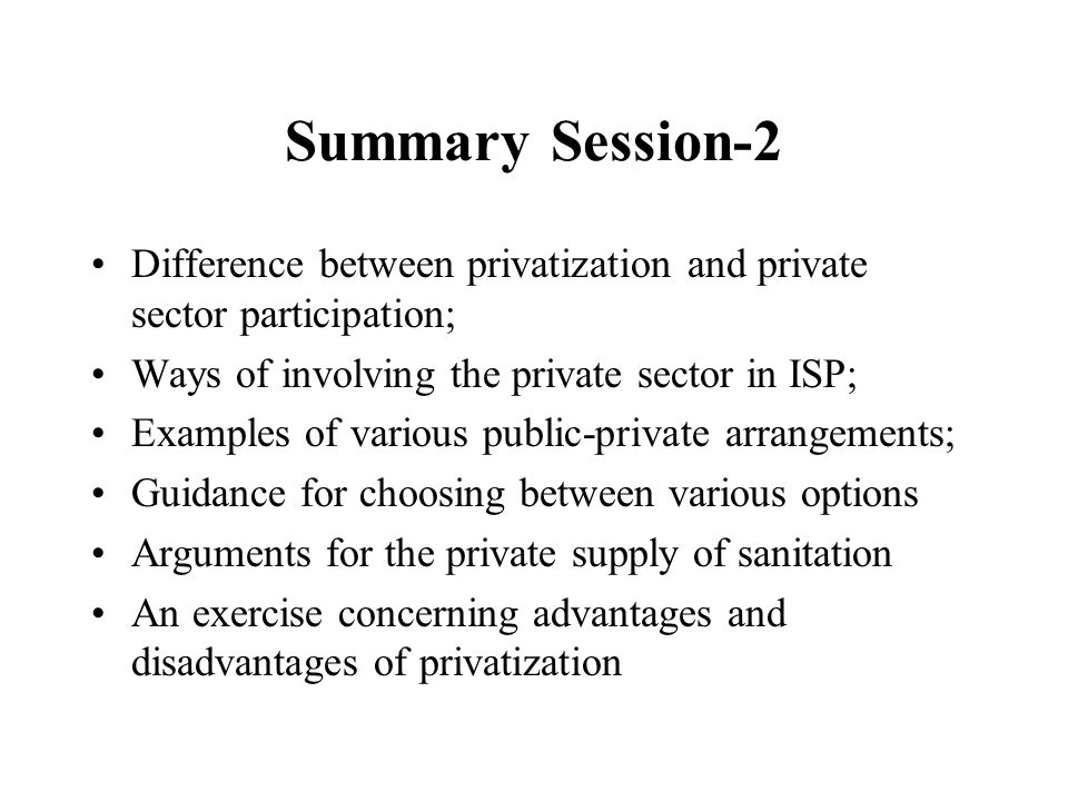 the arguments for privatization Debate about privatization of education: privatization or public from my understanding all the arguments against this are based on baseless propaganda.
