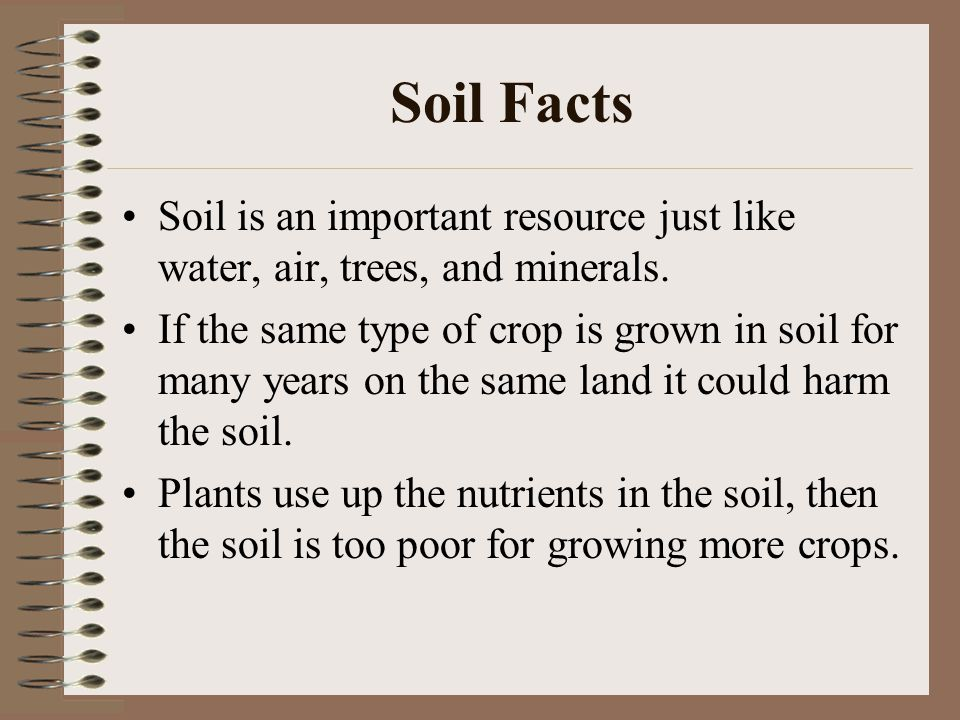 Soil ppt video online download for Soil and water facts