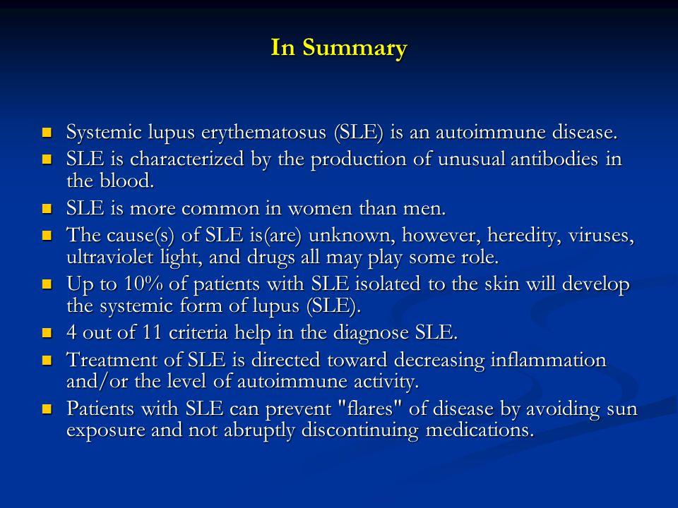 systemic lupus erythematosus treatment pdf