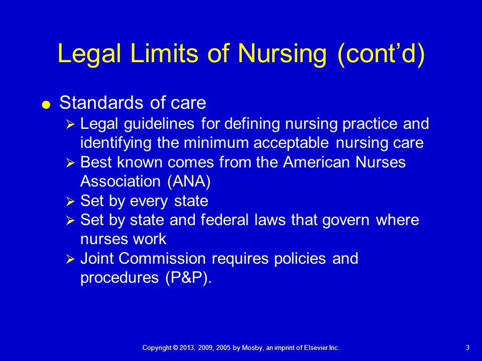 legal implications of nursing