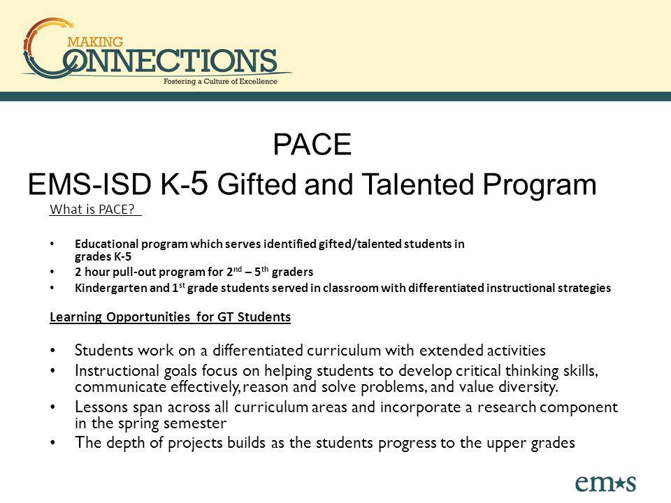 Gifted students research papers