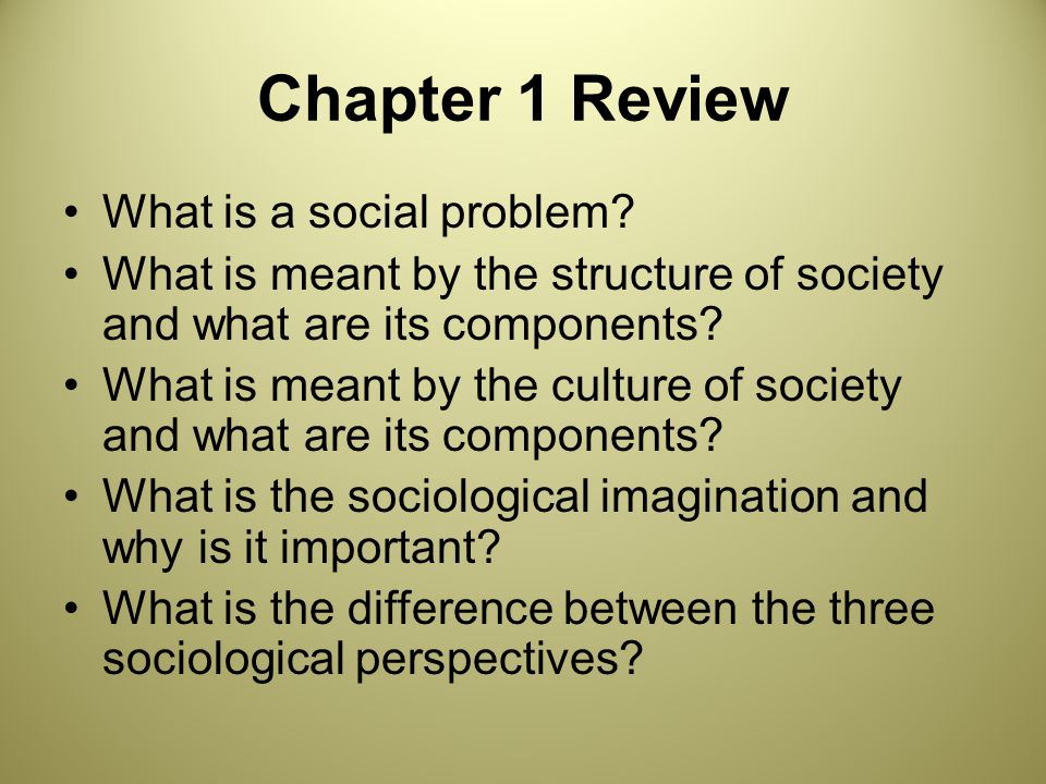 chapter 1 the sociological imagination Sociological imagination is not a theory but an outlook of society which tries to the core', mcgraw-hill, isbn 0-07-240535-x online chapter summary judith.