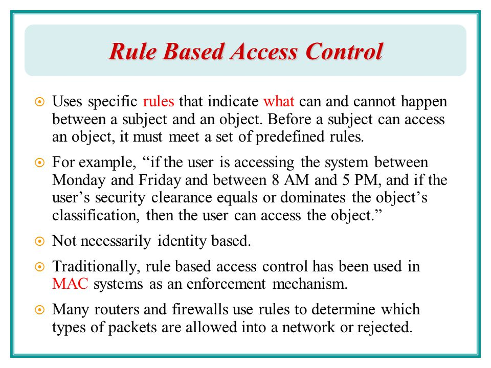 Access Control Part I Chao Hsien Chu Ph D Ppt Download
