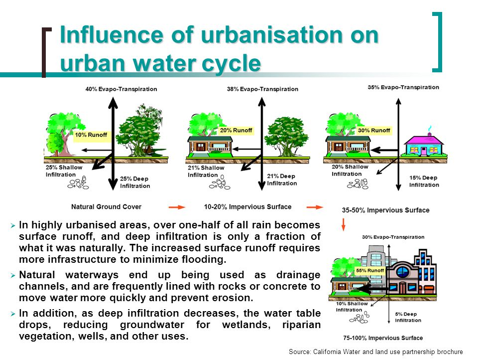 Rain Water Management Issue In The Urban Postindustrial