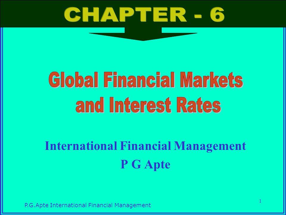 International Financial Management P G Apte - ppt video ...