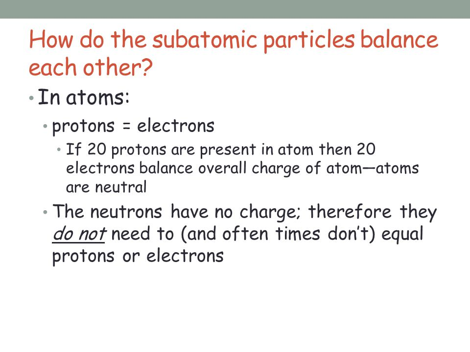 4.2 The Structure of an Atom - ppt download