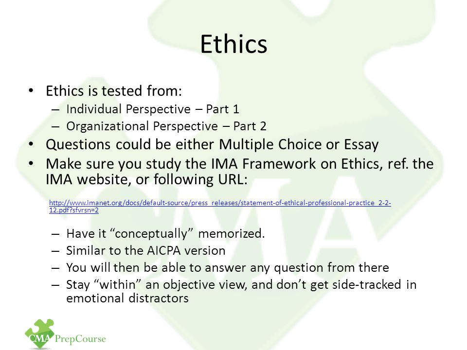 ethical practices essay