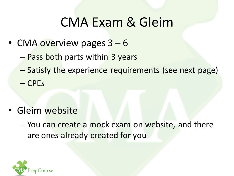 part 2 financial decision making imacma Cma part 2 - financial decision making exam flashcard study system has 2 ratings and 0 reviews ace the cma exam and get the results you deserve th.