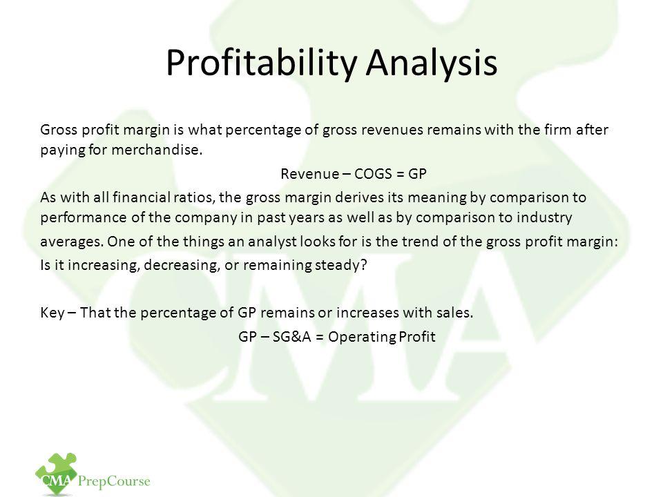 Gross Profit Analysis 35