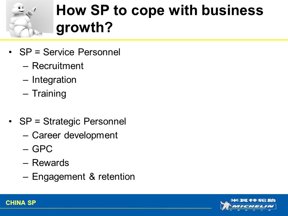 How SP to cope with business growth