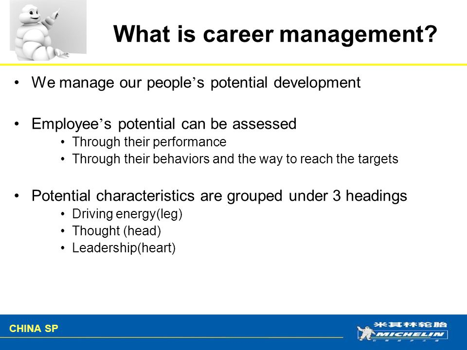 What is career management