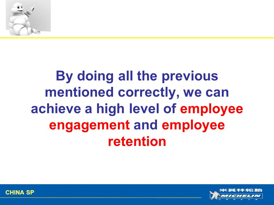 By doing all the previous mentioned correctly, we can achieve a high level of employee engagement and employee retention