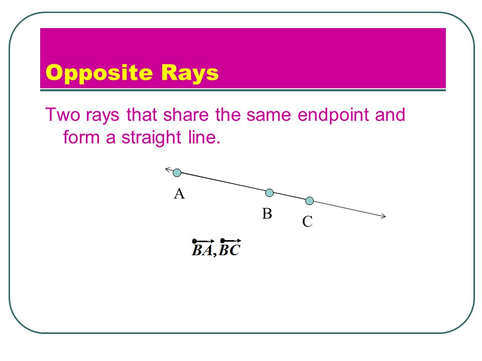 Lesson 1.2 Intro to Geometry. - ppt download