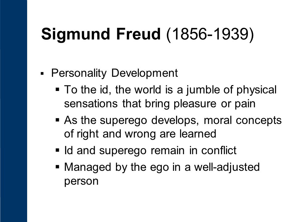 sigmund freud theory of human development pdf