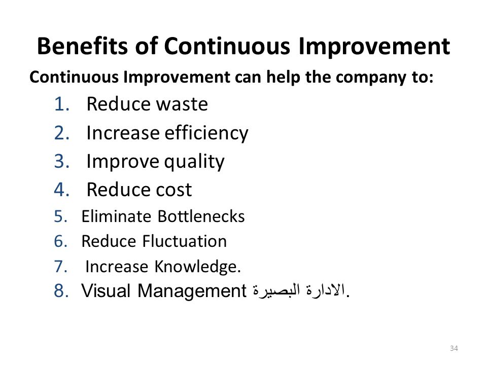 increasing competitiveness with continuous improvement It's time to rethink continuous improvement ron ashkenas in order to increase the flow of and still drives competitive advantage in many.