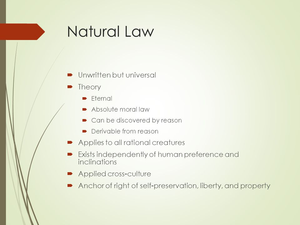 torture and natural law theory The reasons why torture is wrong can be divided into reasons of pure  british  common law excludes involuntary statements or confessions on the ground that.