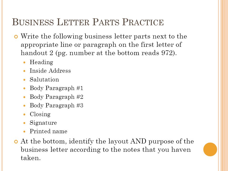 Business Letters Cover Letters Resumes