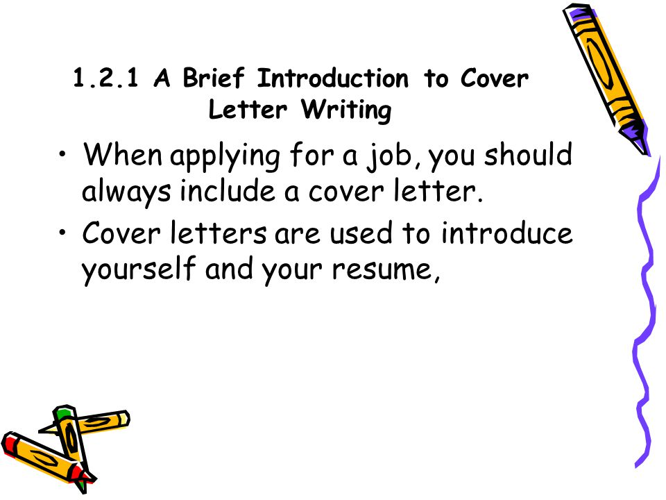should you always include a cover letter - part six practical writing i ppt video online download