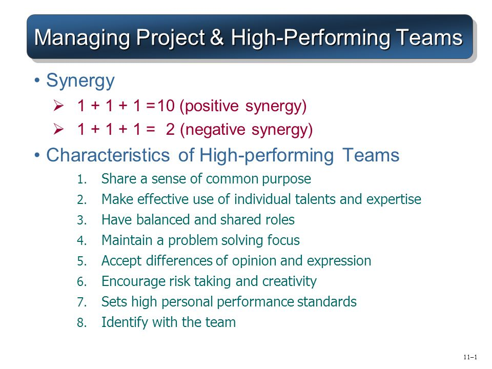 managing high performance teams team Here are 3 keys to success for building a high performing team:  for promotion  or readiness from individual contributor to managing people.