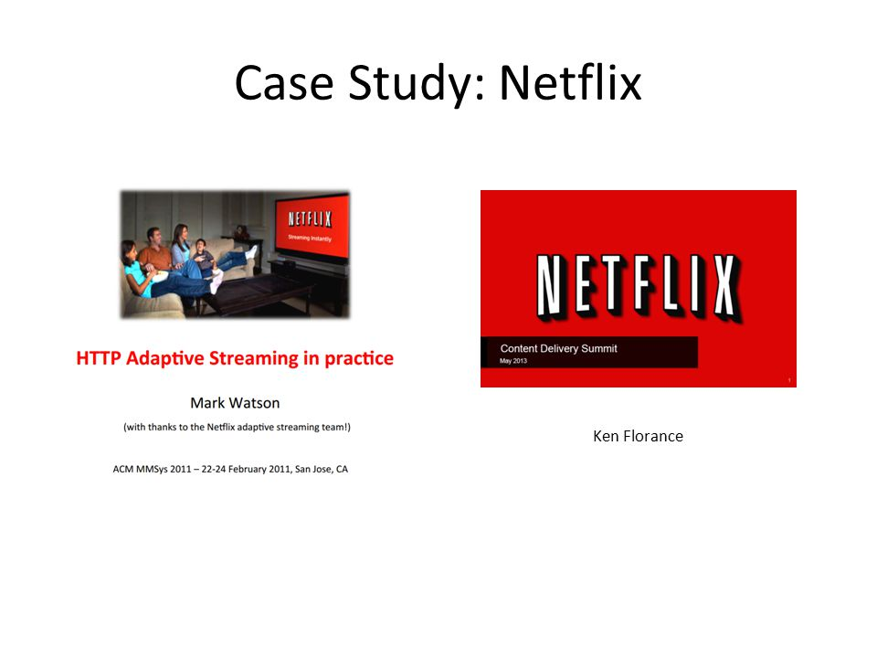 Netflix case study answers