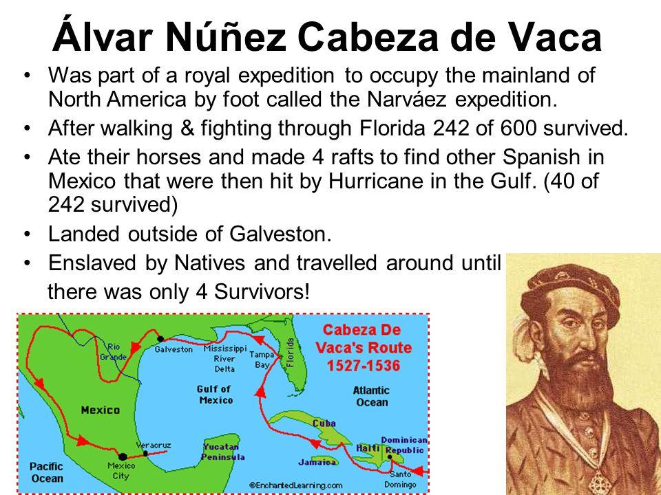 Alvar Nunez Cabeza De Vaca Route