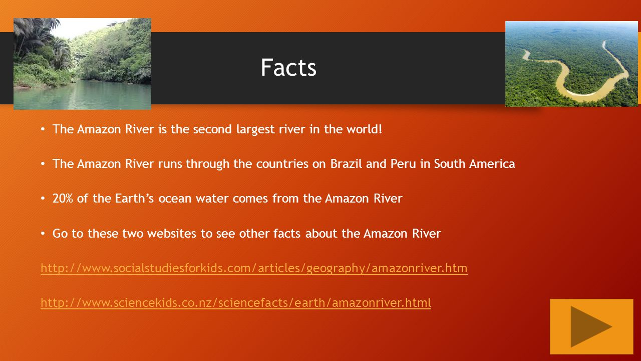 The Amazon River Lauren Kirk Ppt Video Online Download - Largest river in the world