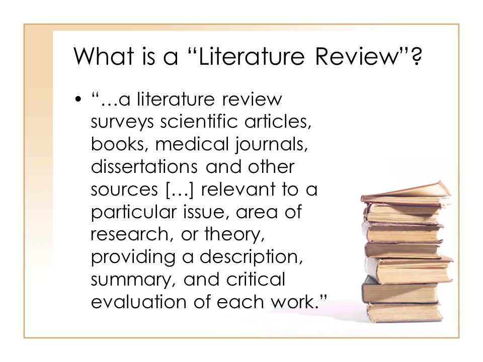 literature review on research articles Review articles are often as lengthy or even longer that original research articles what the authors of review articles are doing in analysing and evaluating current research and investigations related to a specific topic, field, or problem.