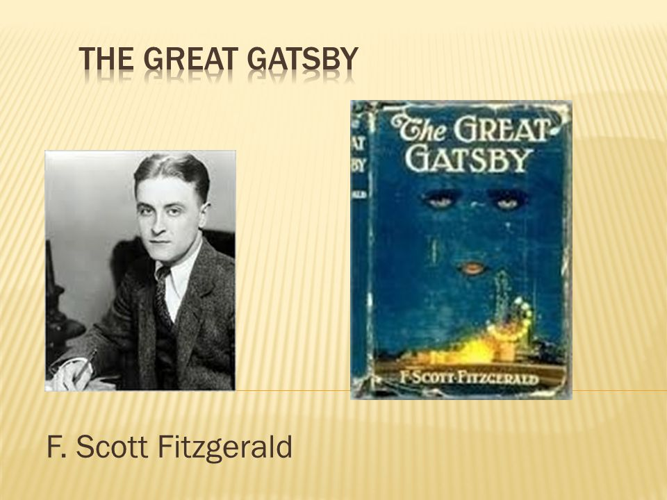 the theme of materialism in f scott fitzgeralds the great gatsby