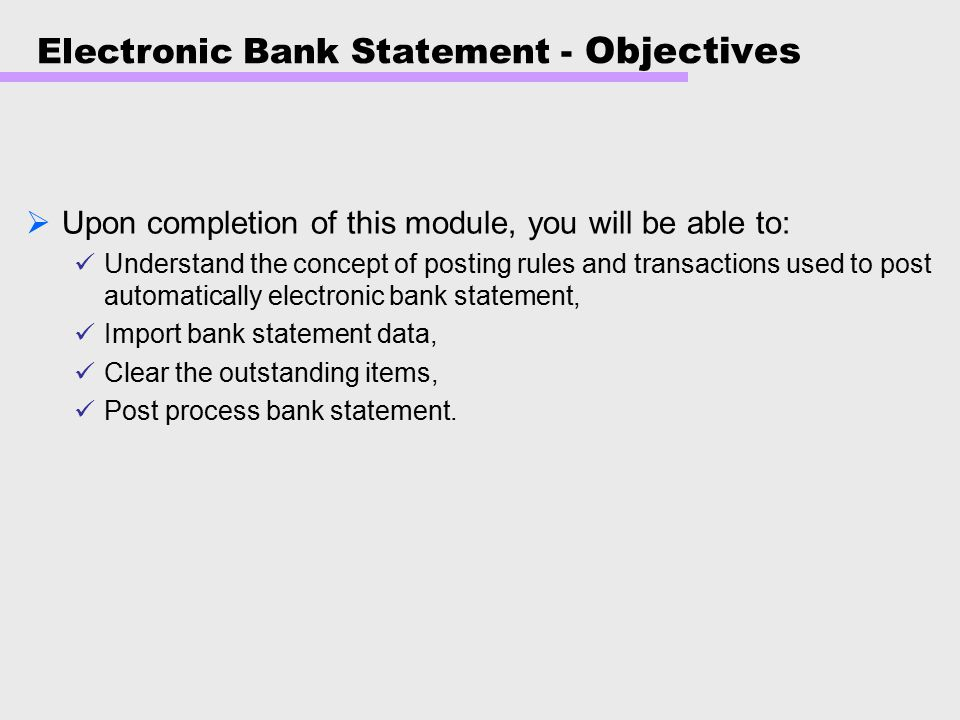 objectives of e banking Customer satisfaction with e-banking service at national bank of kenya  objectives investigation of e- banking web design influence on customer satisfaction.