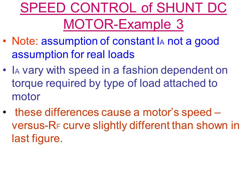 Dc motors ppt download for How to vary the speed of a dc motor