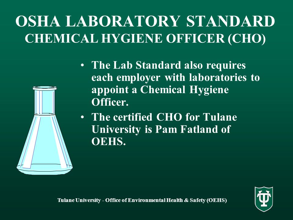 how to become a chemical hygiene officer