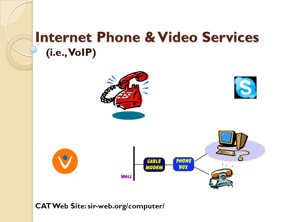 Internet Phone & Video Services