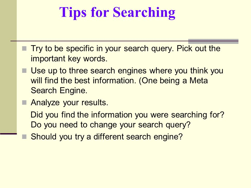word how to change the researcher search engine