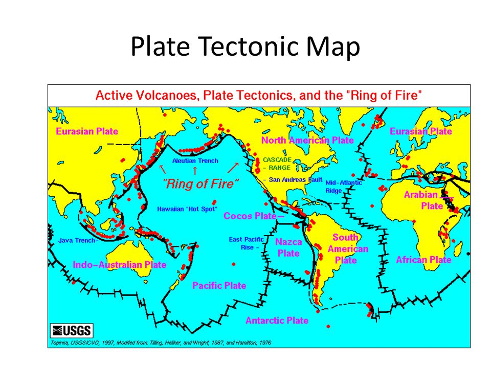 Geology Unit Plate Tectonics Ppt Download - Plate tectonics map