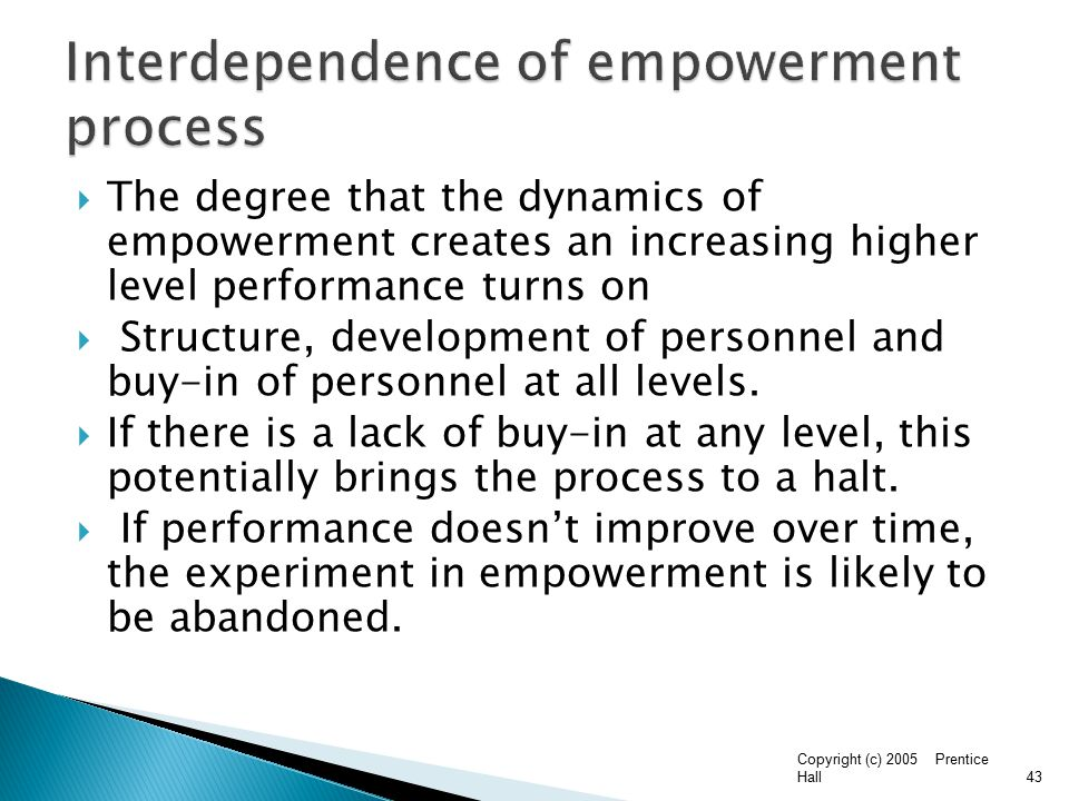 empowerment delegation paper essay Management delegation this research paper management delegation and other 63,000+ term papers, college essay examples and free essays are available now on reviewessayscom.