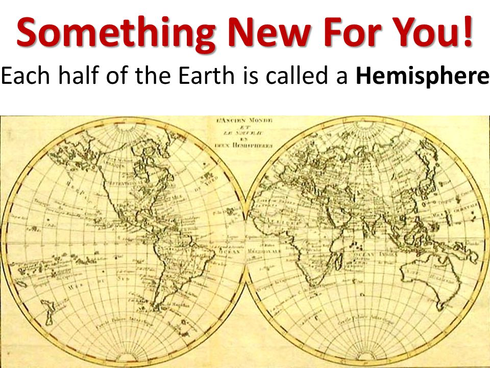 And Hemispheres are our next set of lessons!
