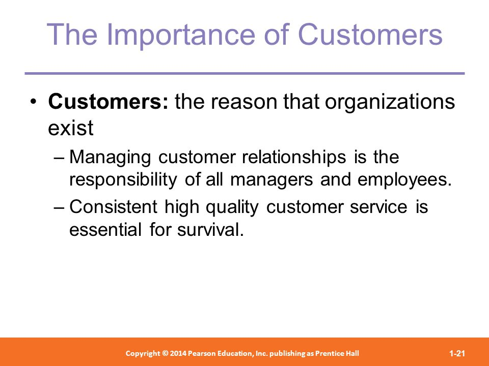 the importance of customer service management strategies to business organizations Many managers of service businesses are aware that the strategic management (by which i mean the total process of selecting and implementing a corporate strategy) of service businesses is.