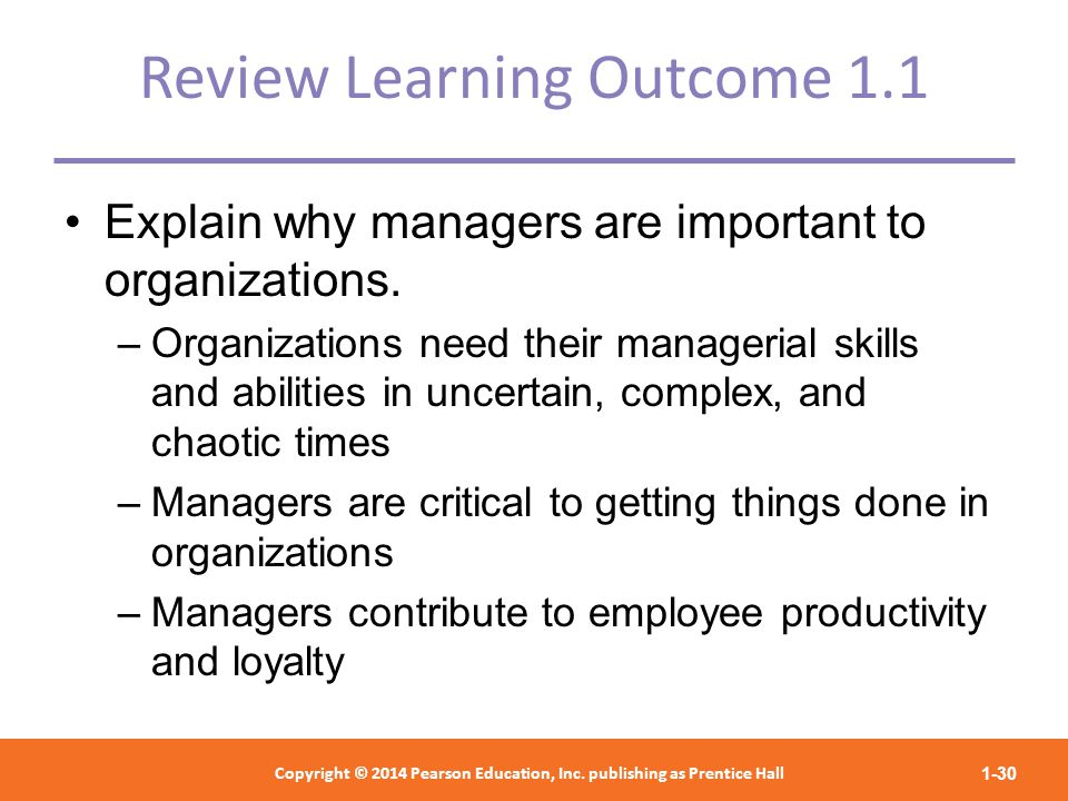 managing people organisations outcome 1 managing people and organisations  so too must the process which originally created it and that there are certain constant necessary conditions for the outcome.