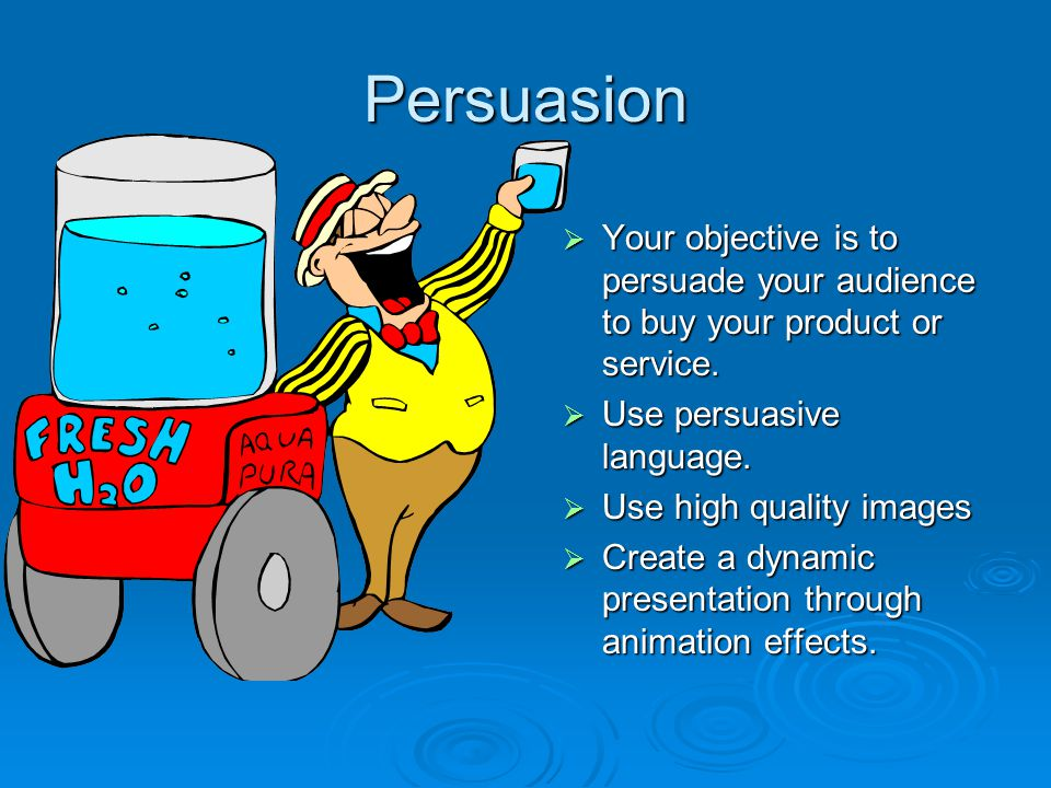 Create an Sales Presentation Selling a Product - ppt video online ...