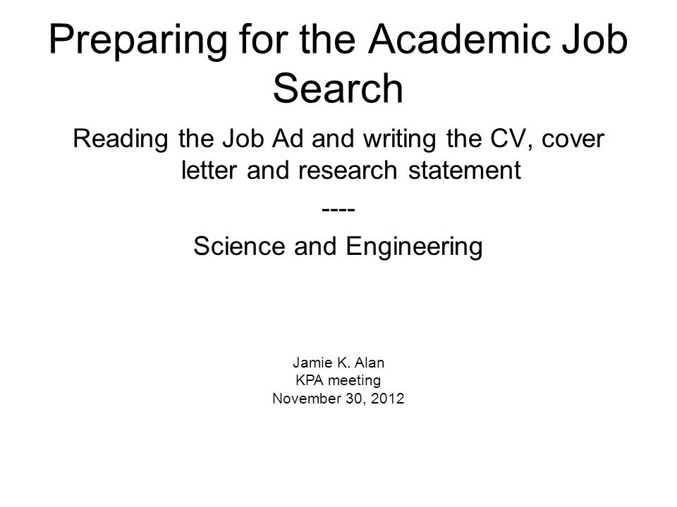 cv and cover letter writing for academic research audiences Study our clinical research assistant cover letter samples to learn the best how to write a resume cover letters well with non-scientific audiences as.