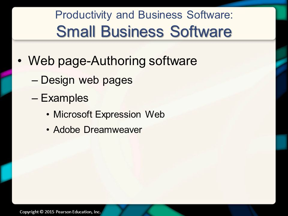 business computer applications used by large companies