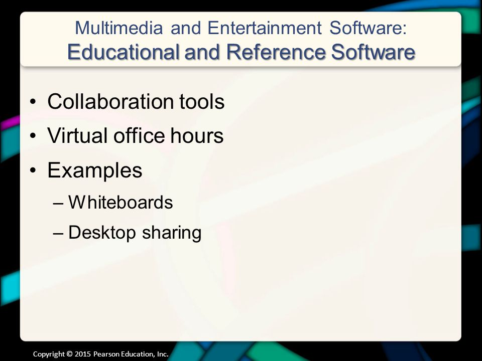 Chapter 4 Application Software Programs That Let You Work