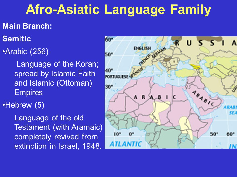 Language Families Of The World Ppt Video Online Download - Old world language families map