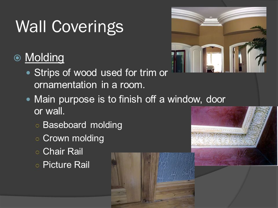 Wall Coverings Molding