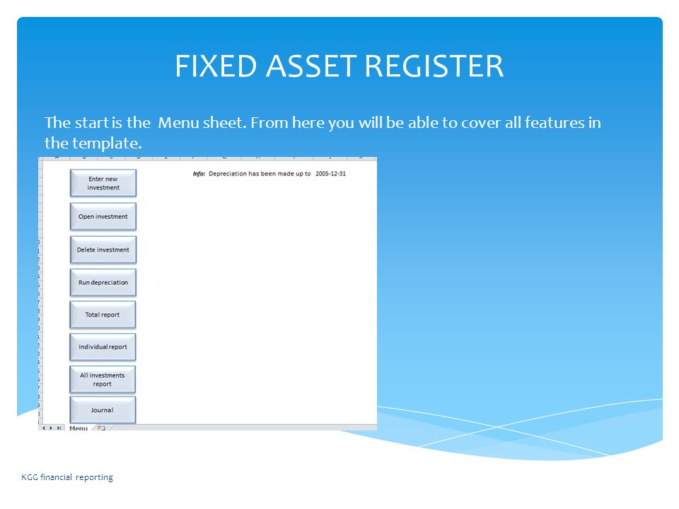 fixed assets register - photo #41