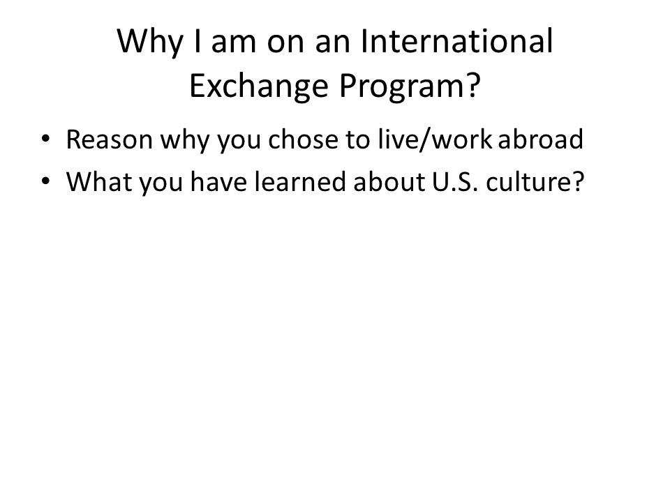Why is foreign exchange important