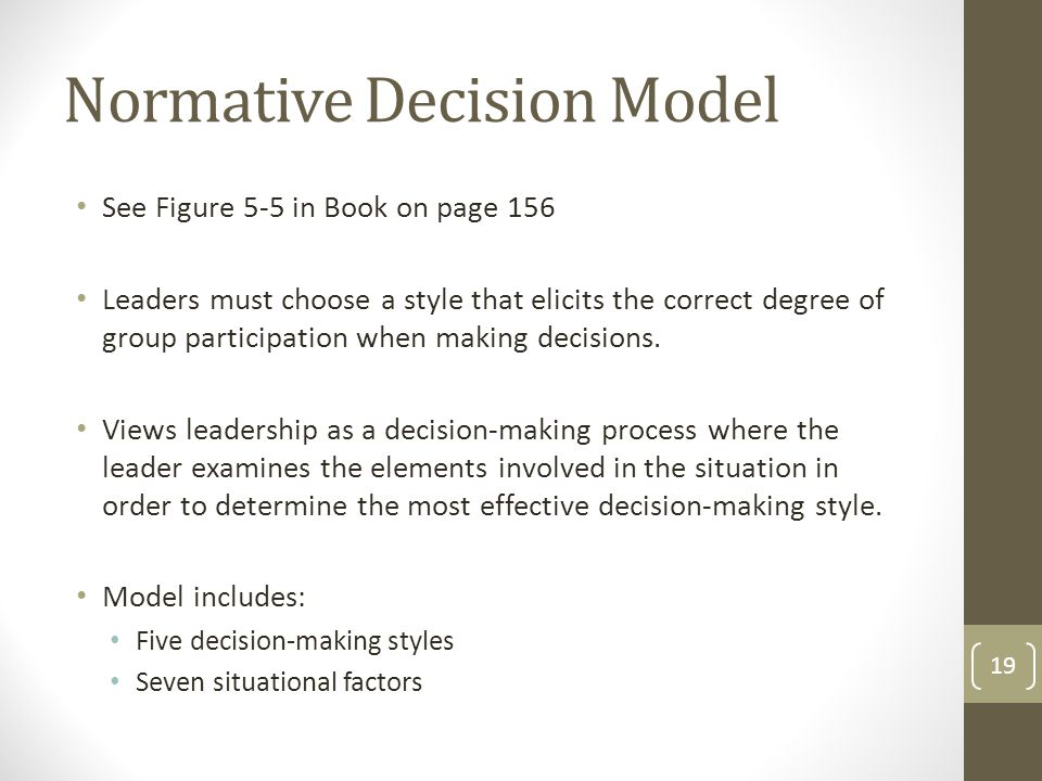 factors involved in effective decision making Contents1 effective decision making definition:2 effective decision  effective decision making  identify what the factors are considered in making the decision.