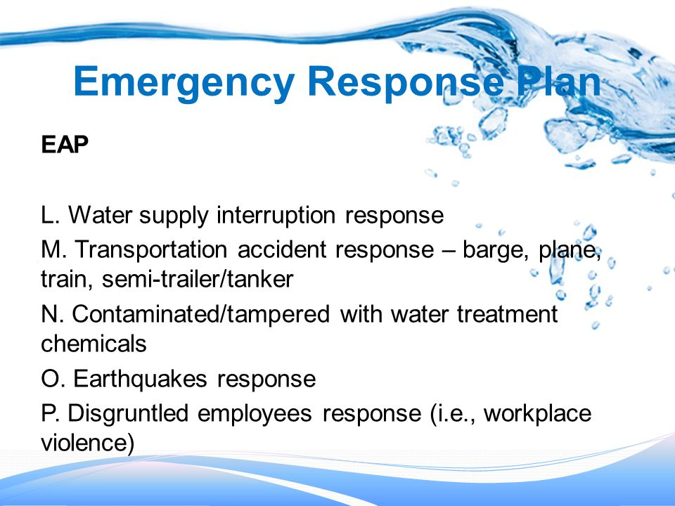 Emergency Response Plans - ppt download