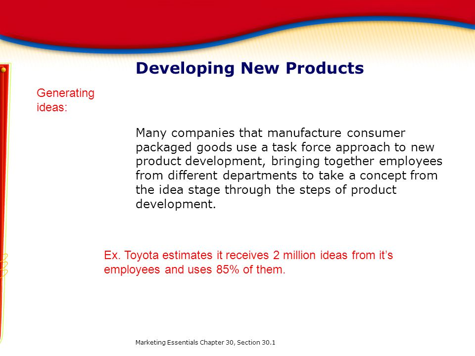 Unit 10 product and service management ppt download for Consumer product design companies